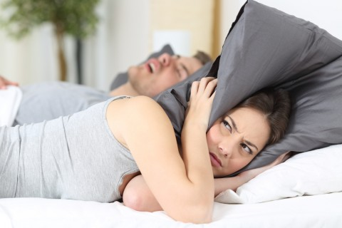 Snoring Can Tear a Marriage Apart